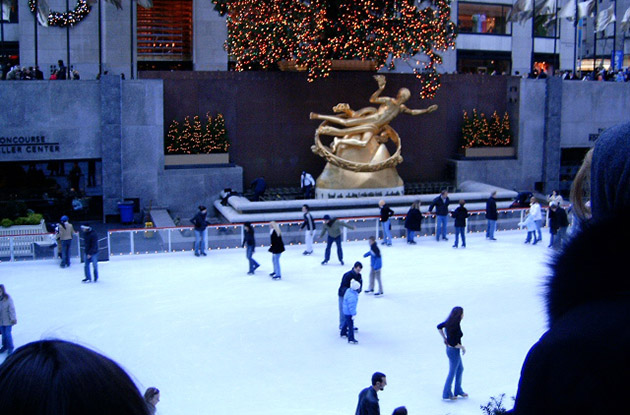 The Rink at Rockefeller Center Opens Oct. 7