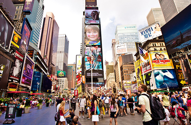 Family-Friendly Time Square Attractions
