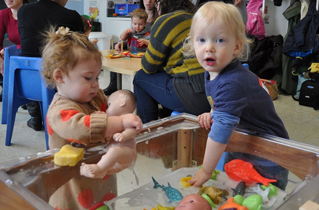 Nursery School at Temple Israel Center Launches Programs for Children and Parents