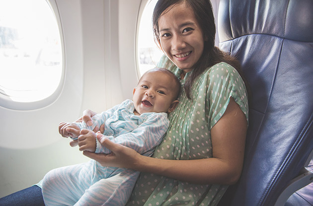 5 Tips for Comfortable Travel with Your Young Child or Infant
