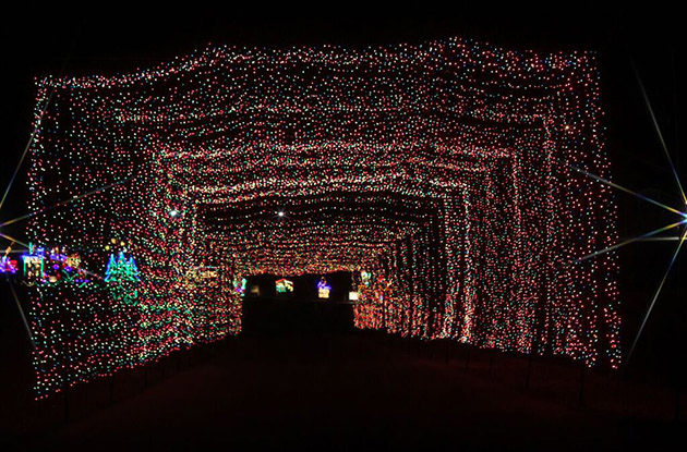 whats new at the skylands stadium christmas light show and christmas village - Christmas Light Show Nj