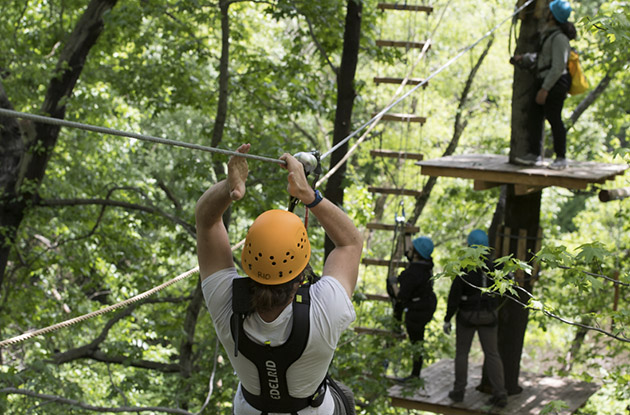 Bronx Zoo To Add Zip Line And Nature Trek Adventure Course