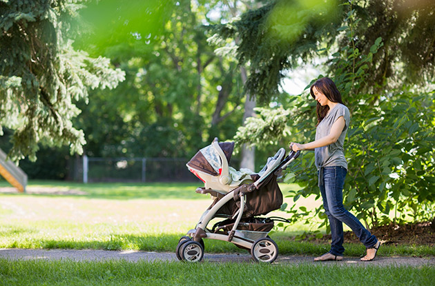 The First Stroller Made of Recycled Materials is Now Available in the US