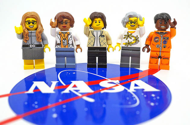 Lego to Create a Women of NASA Set