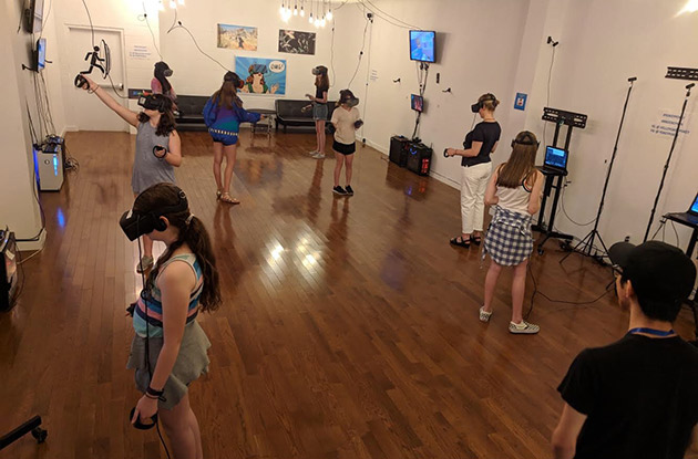 YokeyPokey Virtual Reality Club in Boerum Hill Now Offering Birthday Parties and Corporate Events