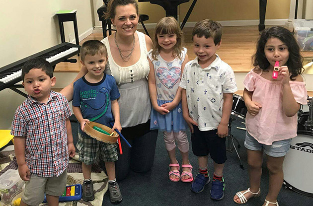 Grace Music School to Add Music FunTime Classes in Melville