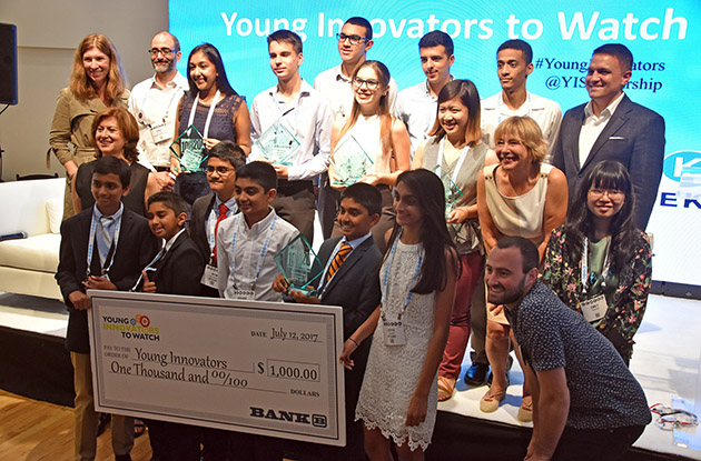 NYC Students Named 2017's Young Innovators to Watch