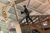 Palisades Climb Adventure Adds Climbing Structures to Practice Balance and Stepping Out of Your Comfort Zone