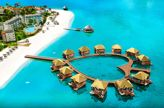 Vacation in Tahiti-Style Bungalows Right in the Caribbean