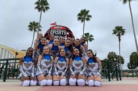 The Academy of the Holy Angels' Varsity Dancers Earn Fourth National Championship