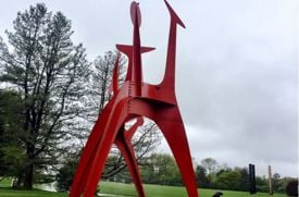 Visiting the PepsiCo Sculpture Gardens, a Westchester Gem