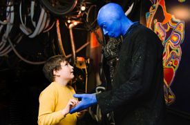 Autism Speaks and Manhattan's Blue Man Group Present an Autism-Friendly Performance on Nov. 3