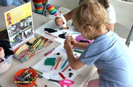 Arts and Crafts Activities for Kids in New York City in June
