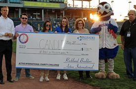 Active International and Rockland Boulders Charity Challenge Raises Nearly $1,000 for CANDLE