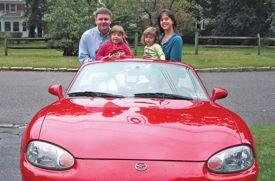 My Dream Car Helped Me Get Back in Gear After the Post-Baby Blues