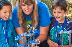 Learning is Fun at Destination Science Summer Camp