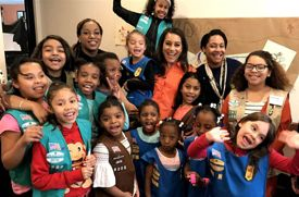 NYC Girl Scout Troop Comprised of Girls Living in Shelters Holds First-Ever Cookie Sale