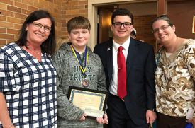 Hicksville Student Starts His Own Scholarship to Reward Kids With Tourettes Syndrome