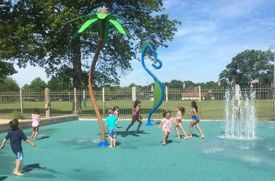 Mamaroneck's Renovated Spray Park Opened on June 8