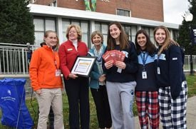 Ursuline School Holds Pajama Drive for a Good Cause