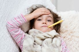 Kids' Learning Isn't Affected By Repeated Sick Days with Minor Illnesses