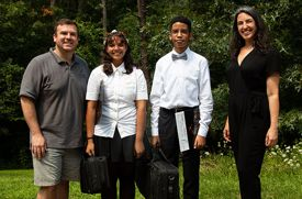 Bob Murphy's Violin Shop in Melville Gives the Gift of Music to Two Usdan Campers