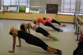 Ohman School of Ballet Adds Ballet Barre Workout Classes