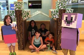 Pixelcraft Kids in Larchmont Adds Comics & Pop Art Class