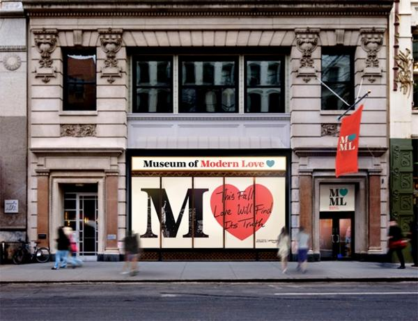Pop-Up Exhibit & Grand Opening Event in NYC at Amazon Prime Video Presents Museum of Modern Love (MoML)