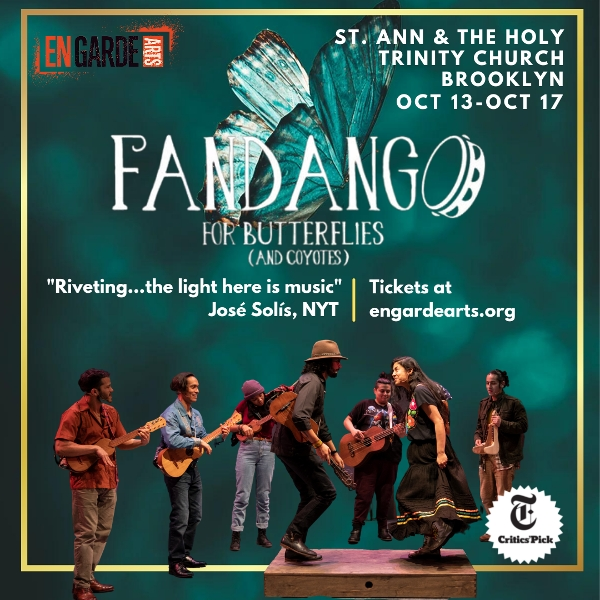 Fandango for Butterflies (and Coyotes) at St. Ann & the Holy Trinity Church