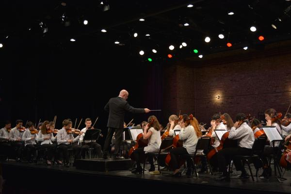 Interschool Orchestras of New York's Women Composers Concert at Hewitt Theater at St. Jean