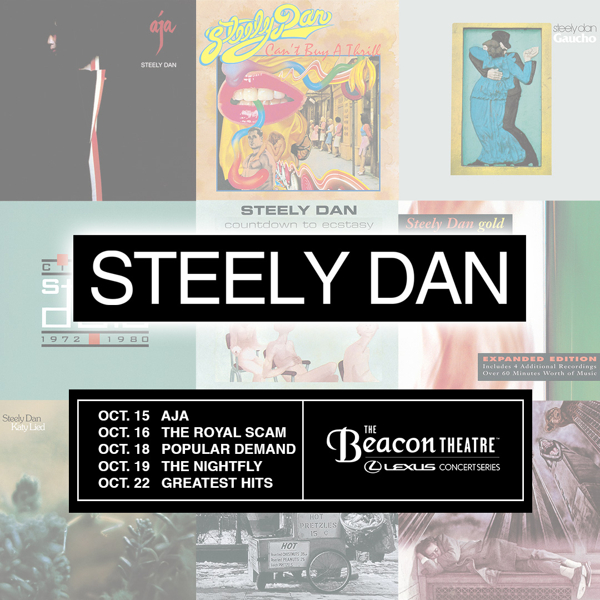 Steely Dan at The Beacon Theatre