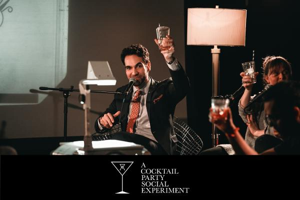 A Cocktail Party Social Experiment at Chelsea Music Hall