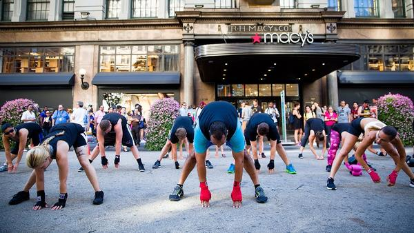 New York's Hottest New Outdoor Workout Venue Is…34th Street at Broadway Boulevard
