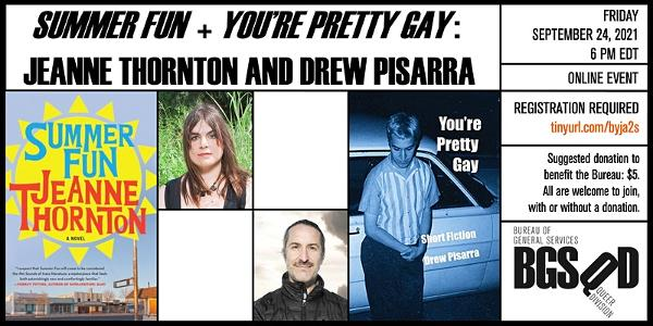 'Summer Fun' + 'You're Pretty Gay': Jeanne Thornton and Drew Pisarra at Online