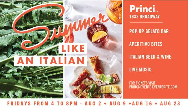 Summer Like an Italian at Princi New York