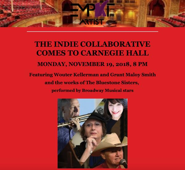 The Indie Collaborative Comes to Carnegie Hall at Carnegie Hall