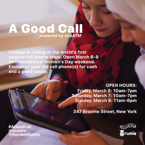 World's First Reverse Cell Phone Store — A Good Call Opens International Women's Day Weekend at 347 Broome Street