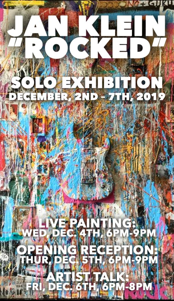 """Jan Klein """"Rocked"""" Solo Exhibition at One Art Space"""