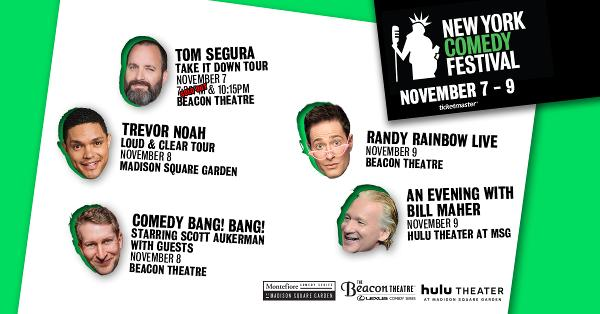 New York Comedy Festival at Hulu Theater at Madison Square Garden