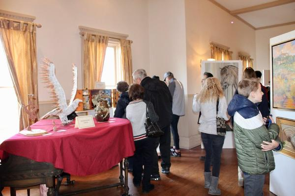 19th Annual Winter Art Show: Opening Reception at Bayside Historical Society