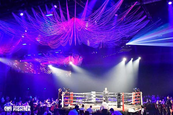 Corporate Fighter Black-Tie Boxing Event at Capitale Manhattan at Capitale