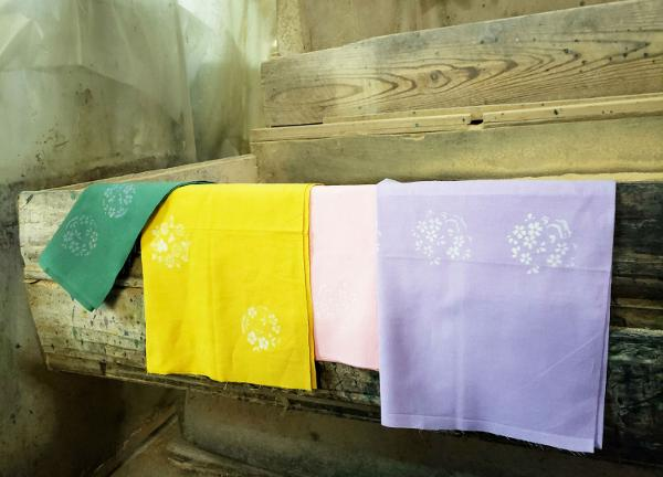 Japanese Textiles: Discharge-Dyed Tenugui Workshops at RESOBOX Long Island City