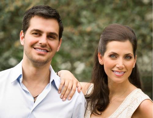 Eleni Michailidis, DDS, and Abraham Chahine, DDS