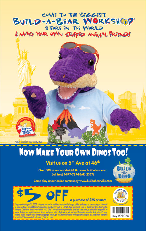 Mobile build a bear coupons