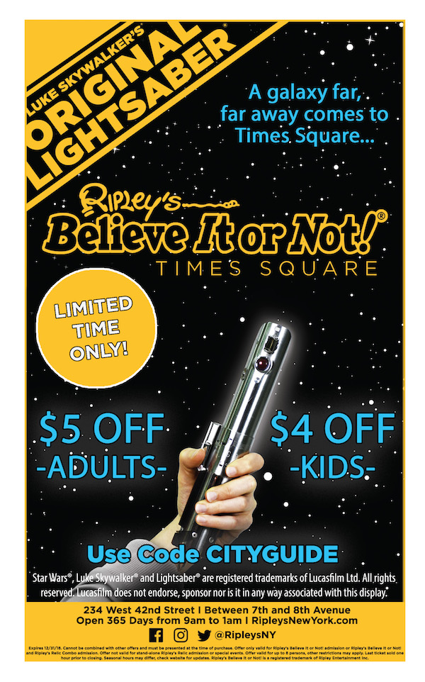 Ripley's Believe It or Not! Times Squar e