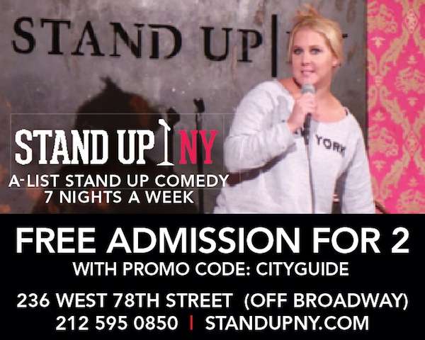 STAND UP NY Coupon New York NY