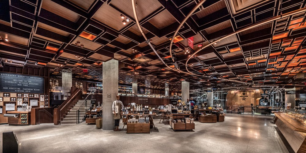 New York Starbucks Reserve Roastery