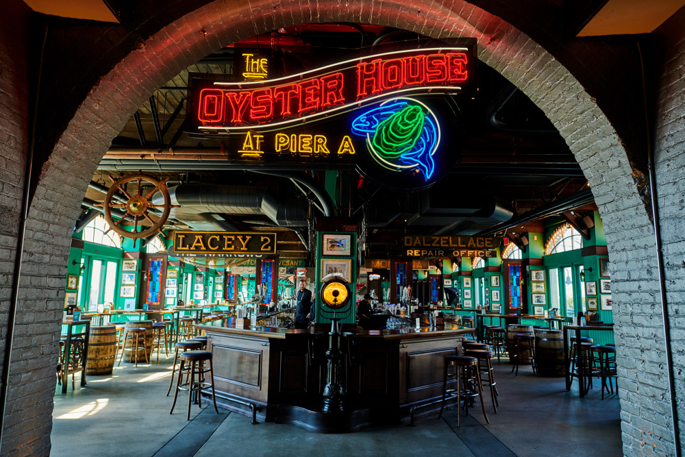 The Oyster House at Pier A