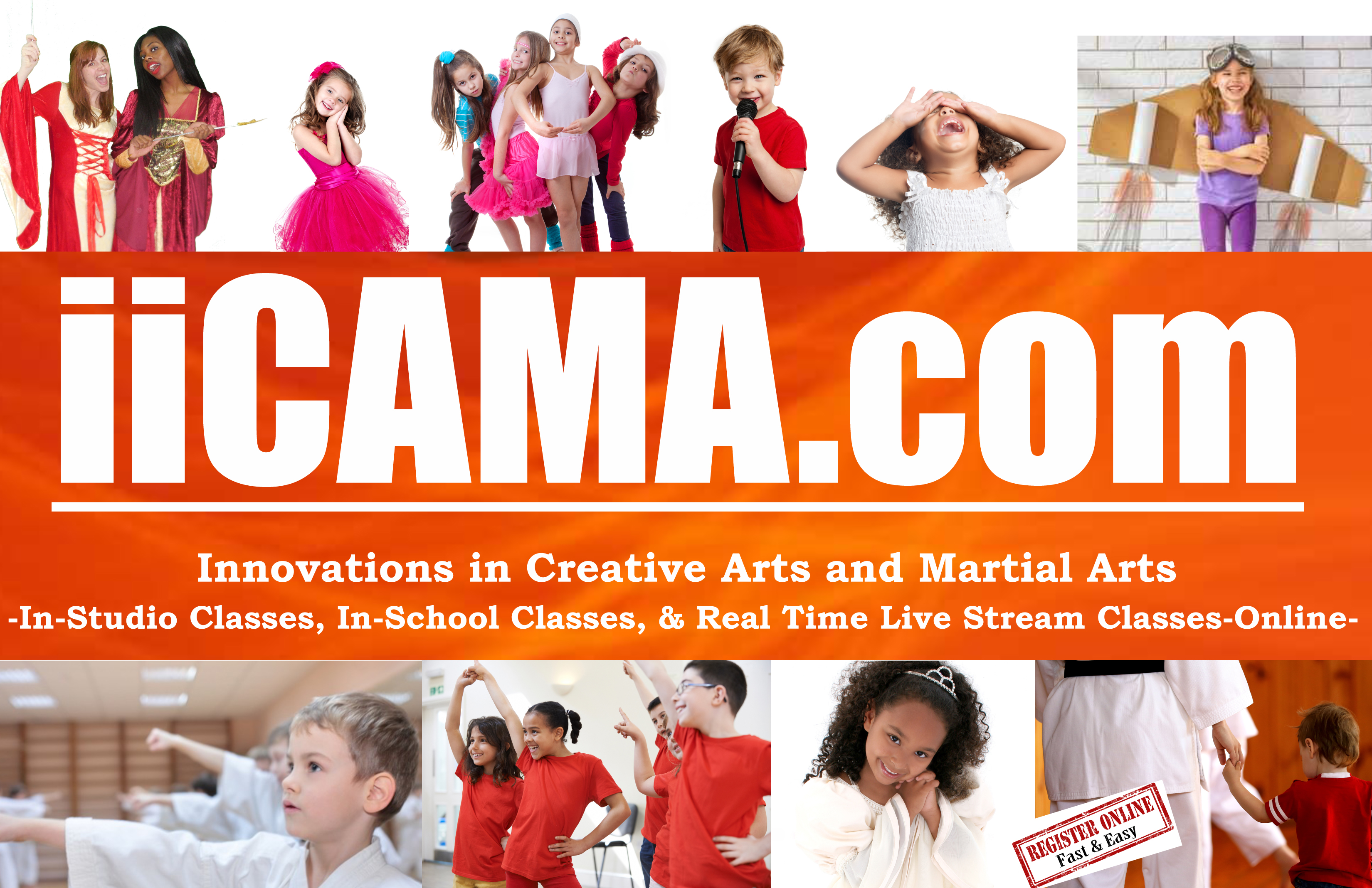 Innovations In Creative Arts and Martial Arts Company (iiCAMA.com)